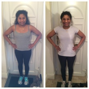 Anthea before and after photos