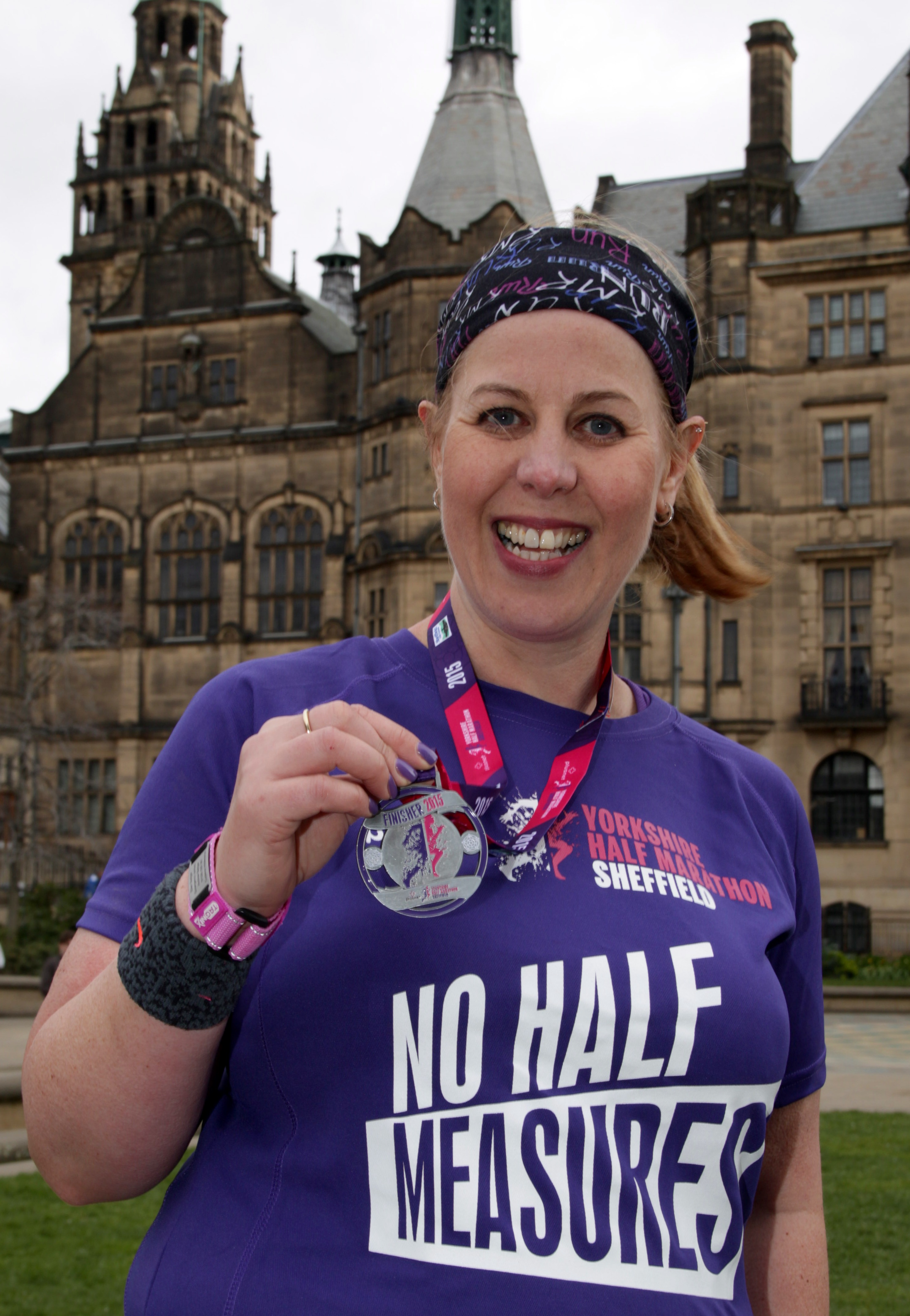 Success at the Sheffield Half Marathon
