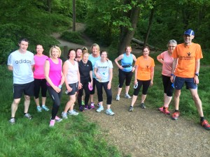Meadowhead running group meet on Mondays inside Meadowhead Physiotherapy at 7pm
