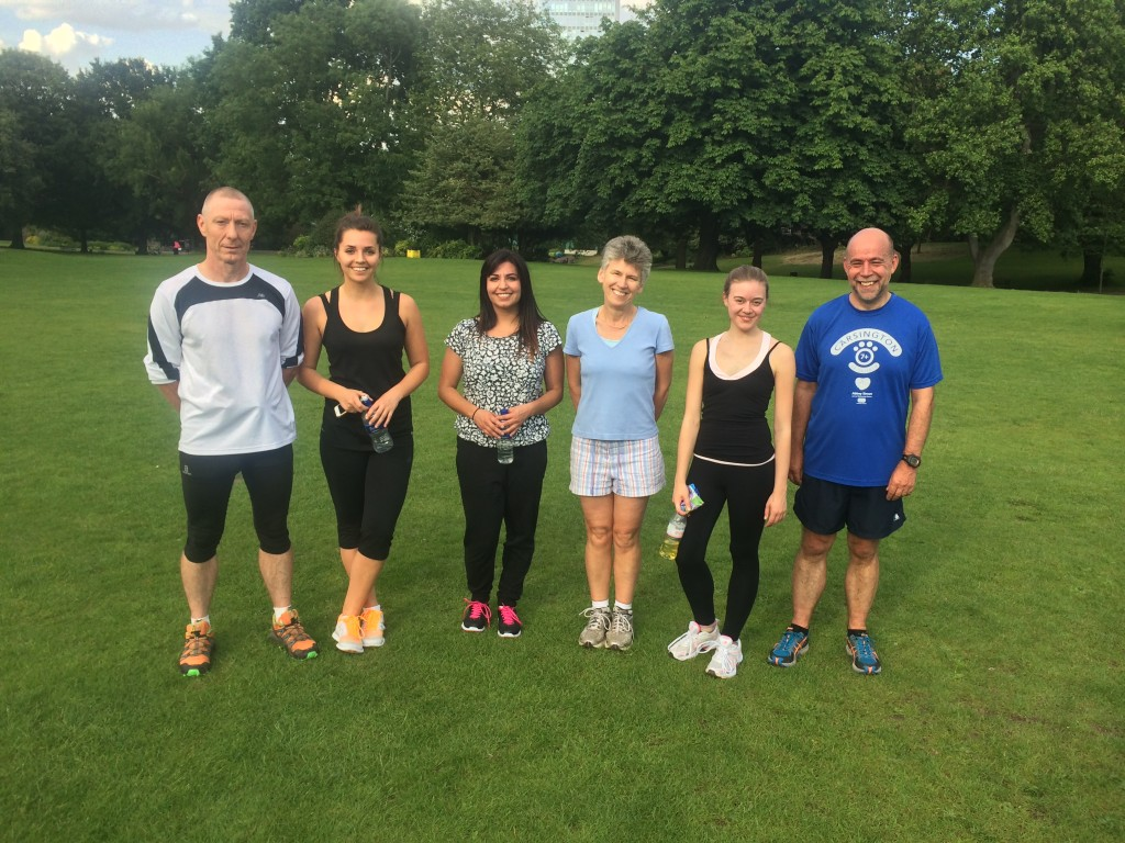 Weston Park running group meet at Weston Parks museum entrance for 5:45pm