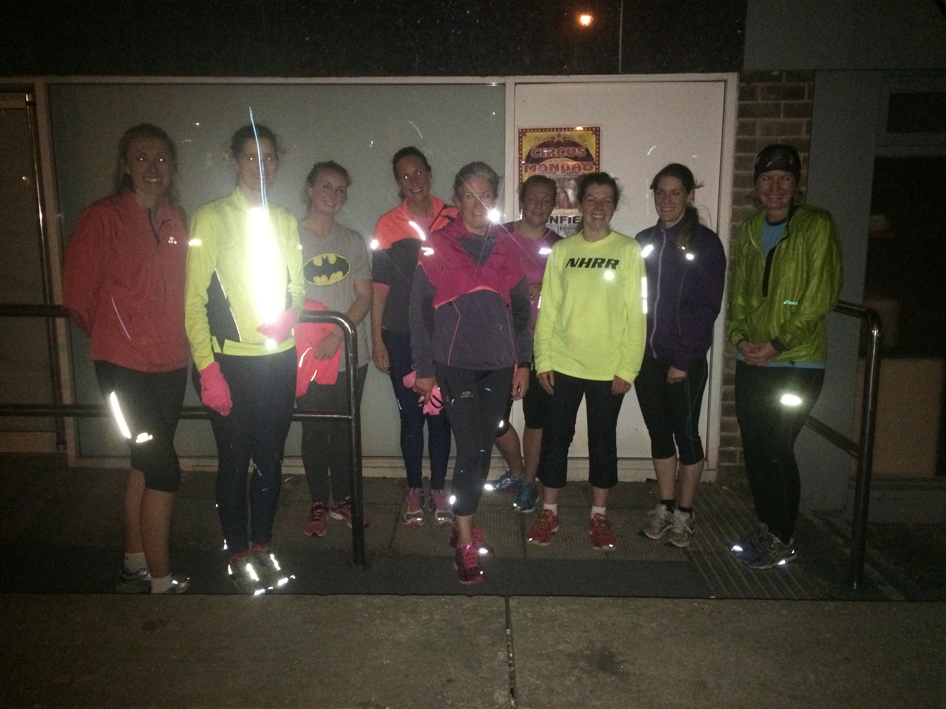 Dore running group meet on Wednesdays outside Hallamshire Osteopathy Dore at 7pm