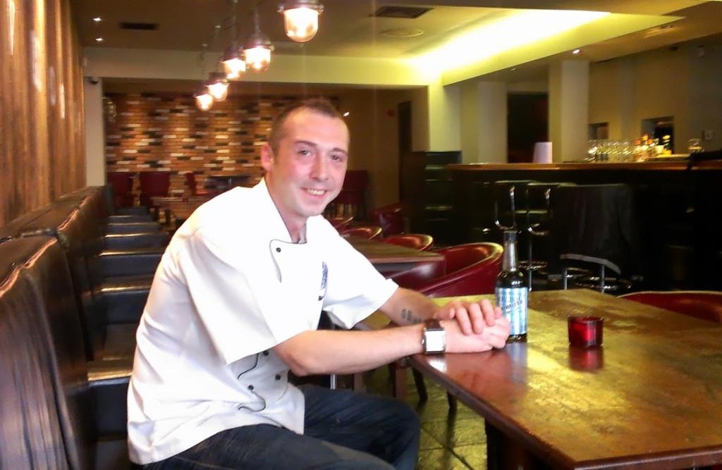 Lee Mangles - Silversmiths, head chef