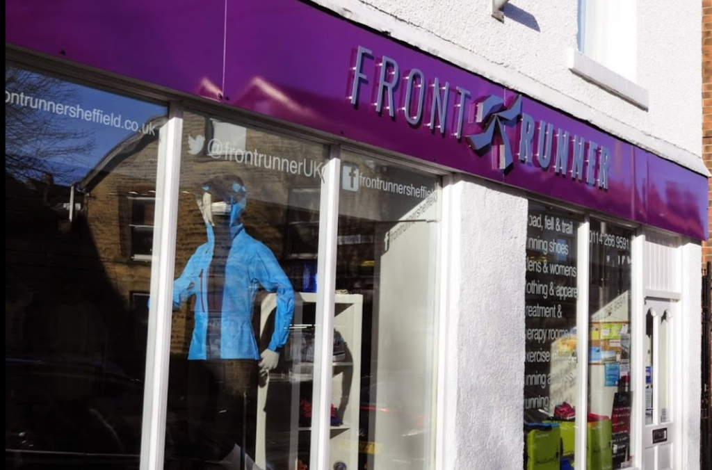 Front Runner 296-298 Sharrow Vale Road Sheffield S11 8ZL Phone - 0114 266 9591