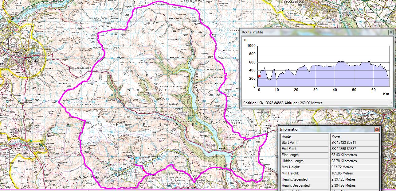 Ben Robson High Peak Marathon 2015