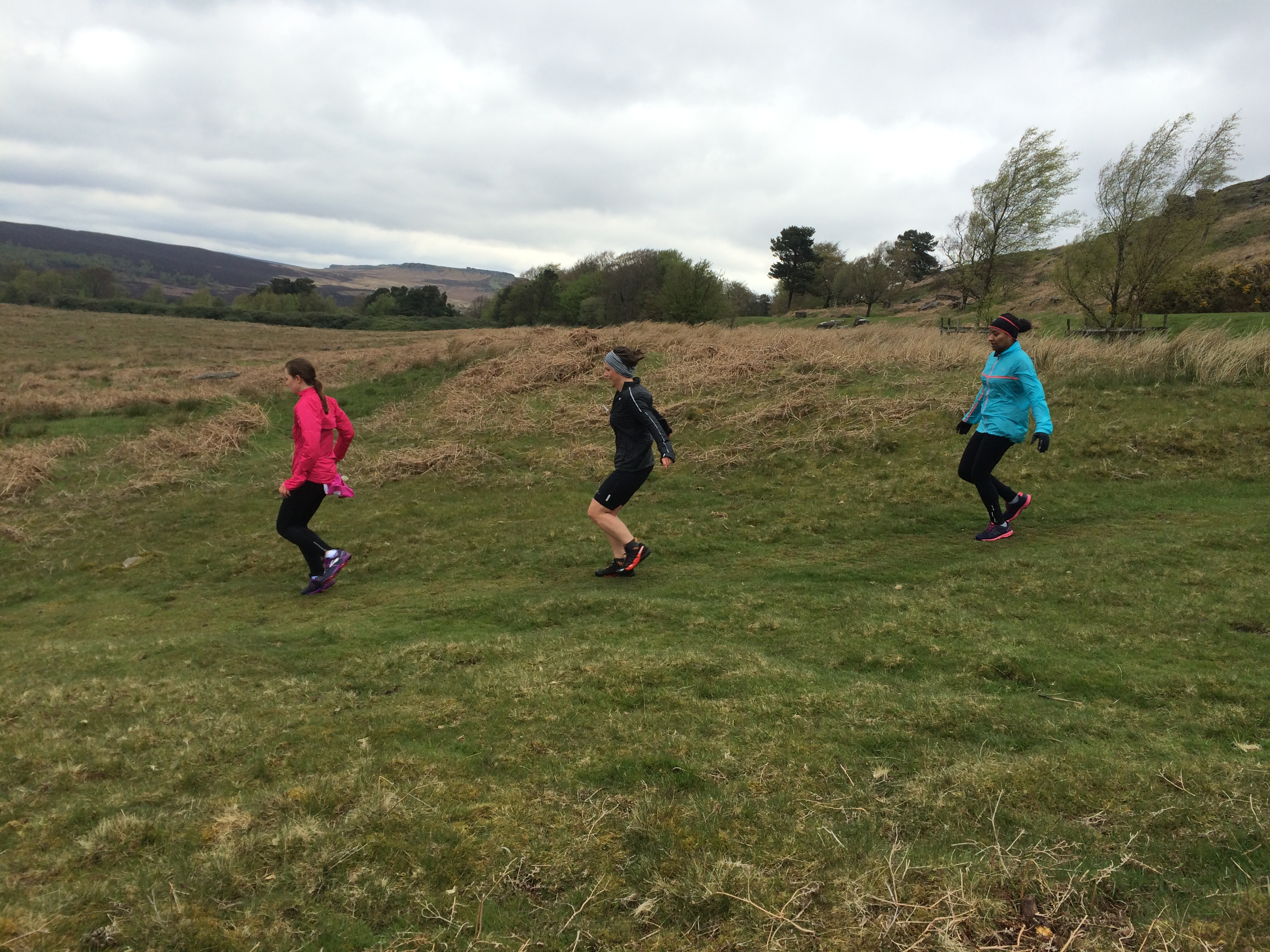 Beginners fell running