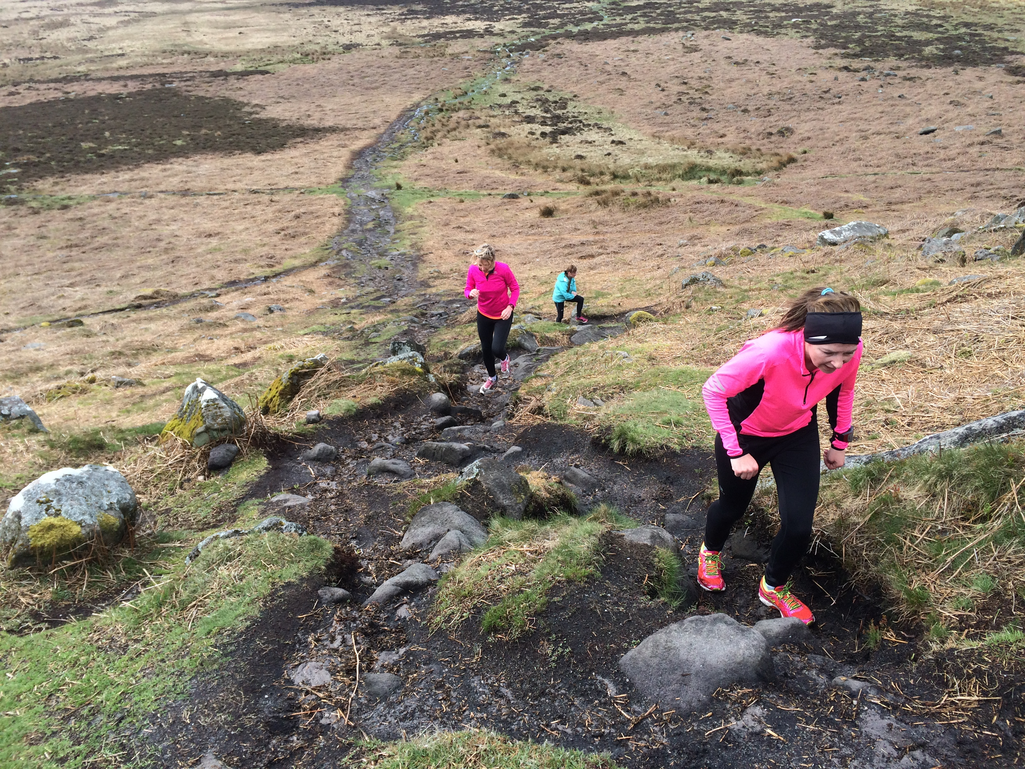 Improvers fell running