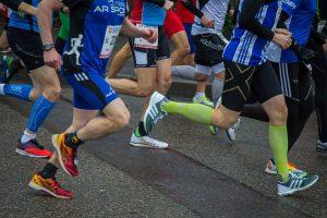 marathon running training Sheffield