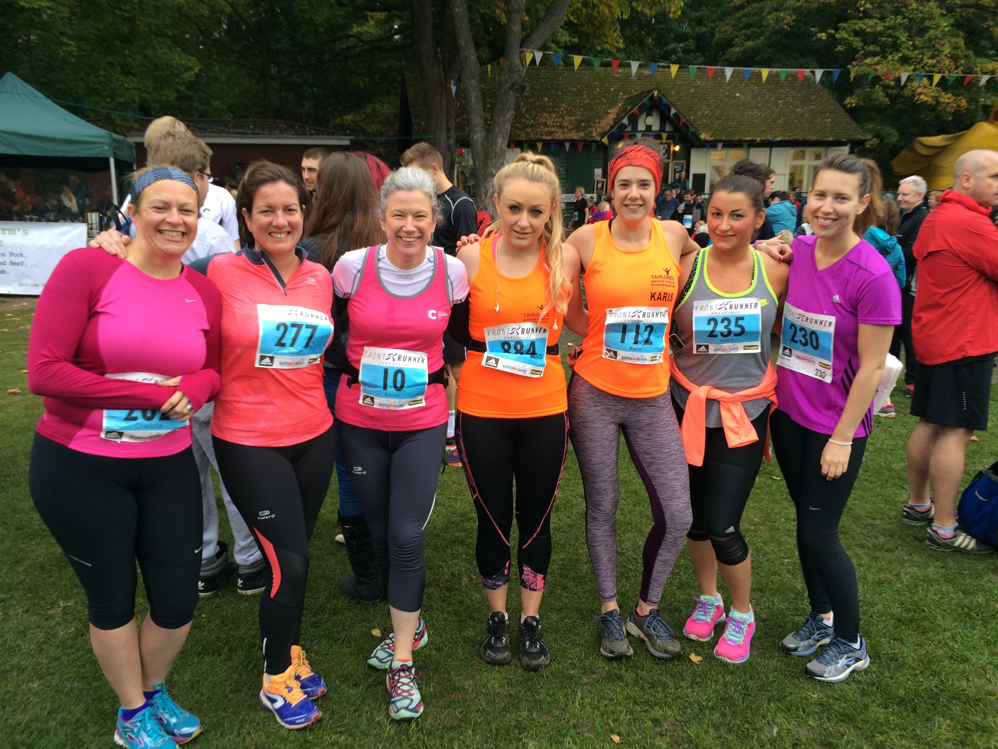 Taylored Running Group at the Sheffield Ten 10 Ten 2015