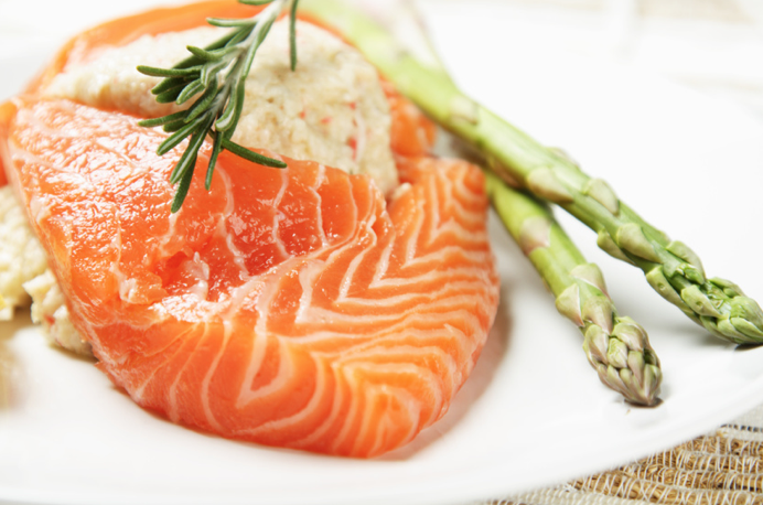 Salmon is a rich source of  Vitamin D