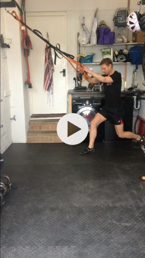Cycle lunge jumps