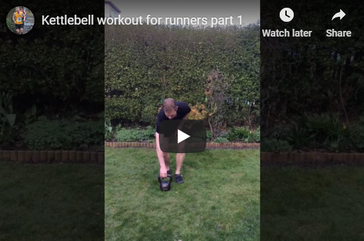 Kettlebell workout for runners personal trainer Sheffield