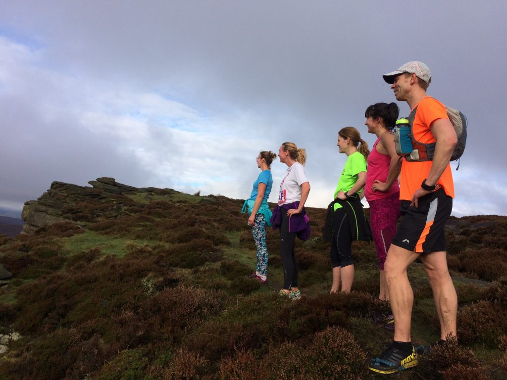 Group Fell Running Session