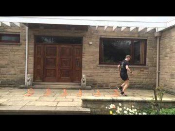 Plyometrics (jump training) Forward Hops