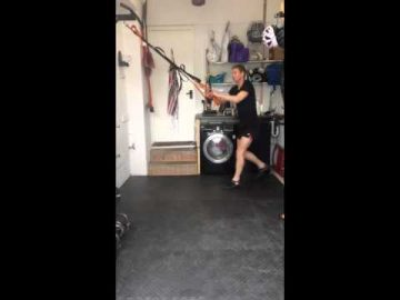 Cycle Lunge Jumps - (suspension trainer)
