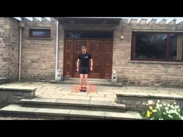 Plyometrics (jump training) Multi-directional Hops