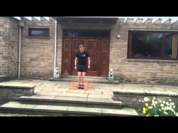 Plyometrics (jump training) Multi-directional Hops