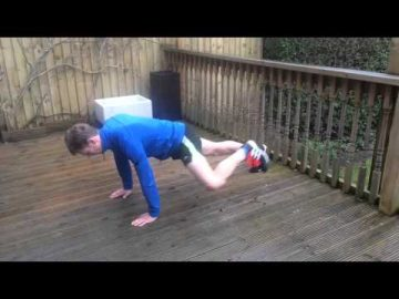 Hand Plank with Knee Lift